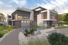 Modernes Mehrfamilienhaus bauen