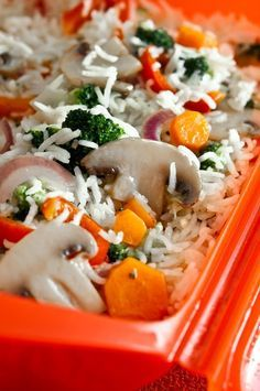 Arroz-basmati-con-verduras-al-vapor