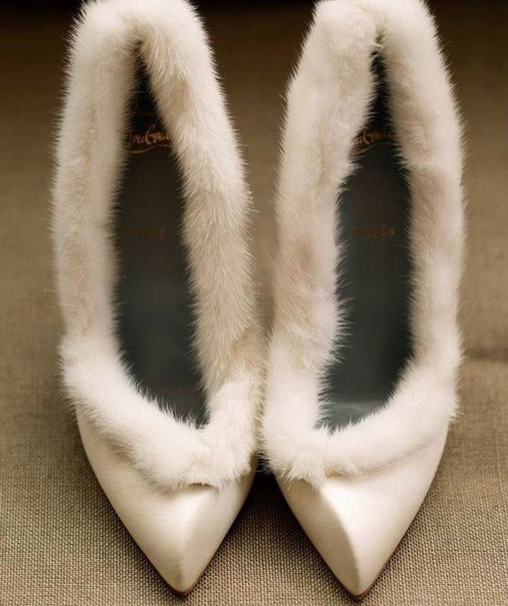 Winter Wedding Shoes, Bridal Shoes