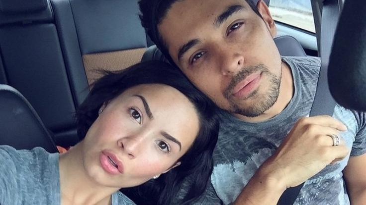 Wilmer Calls Demi Lovato His F-King Soulmate!