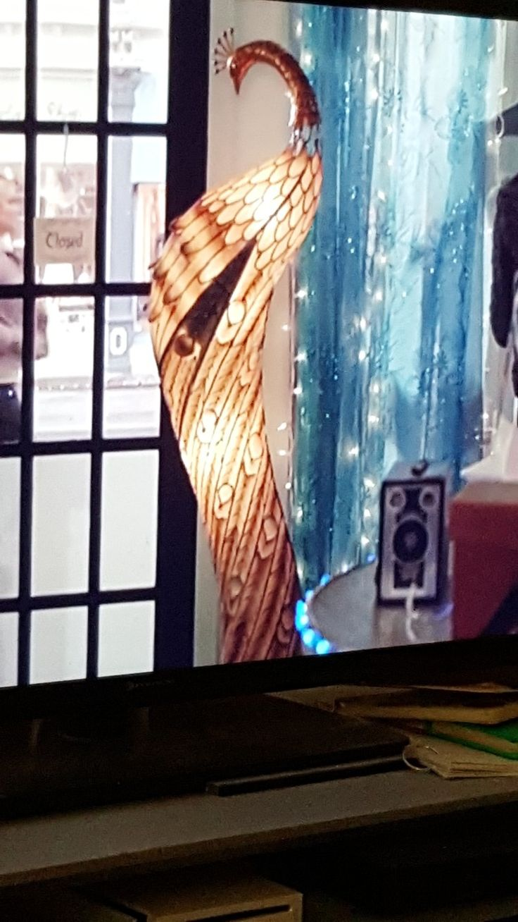 Love This Peacock Lamp From The Good Witch In 2019