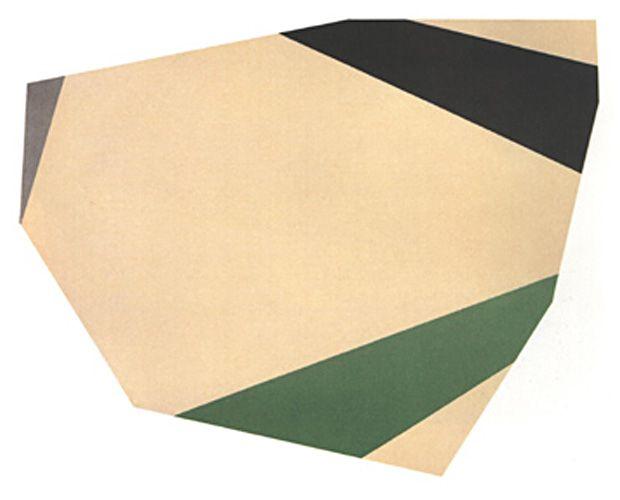 Kenneth Noland -- Ova Ray, 1976