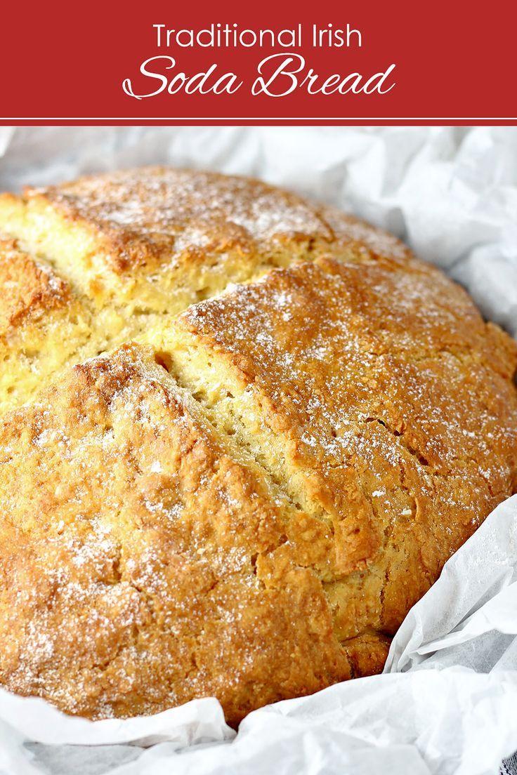 Traditional Irish Soda Bread Recipe In 2020 Irish Recipes Traditional Irish Soda Bread Irish Soda Bread Recipe