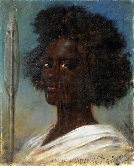 Arturo Ferrari Portrait of an Unknown Black Man
