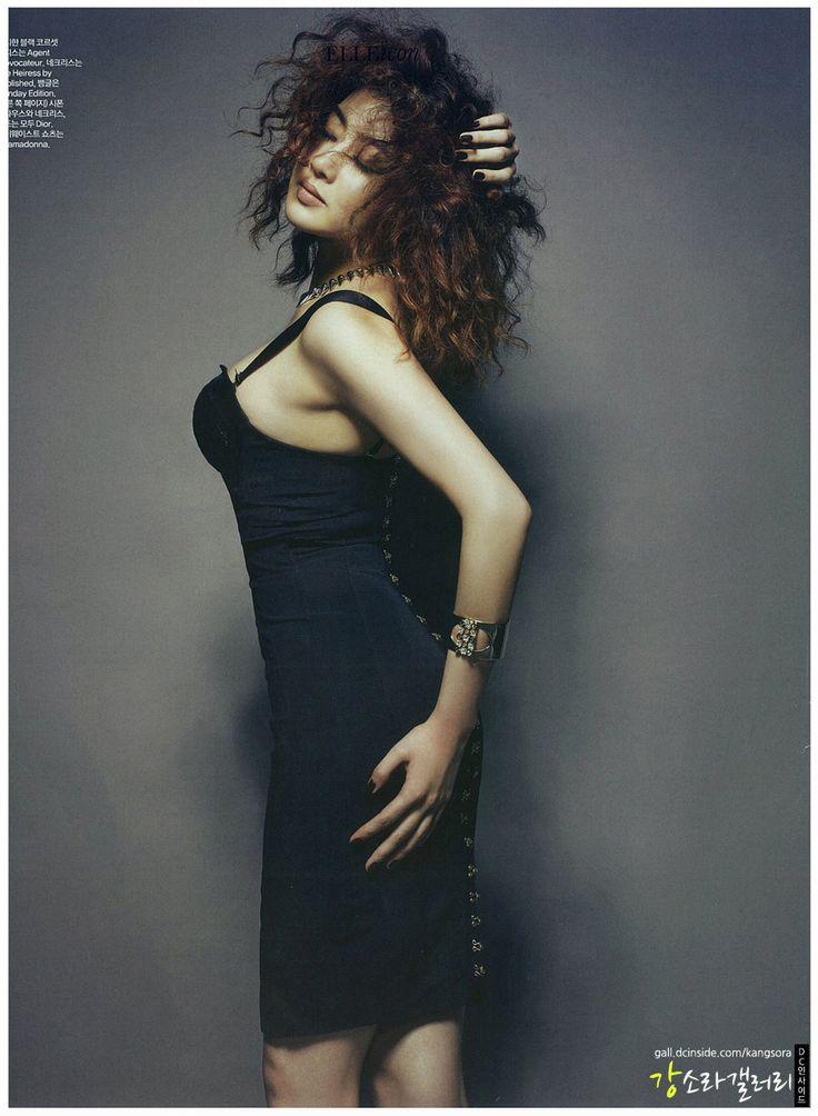 Kang Sora – Elle Magazine August Issue '12