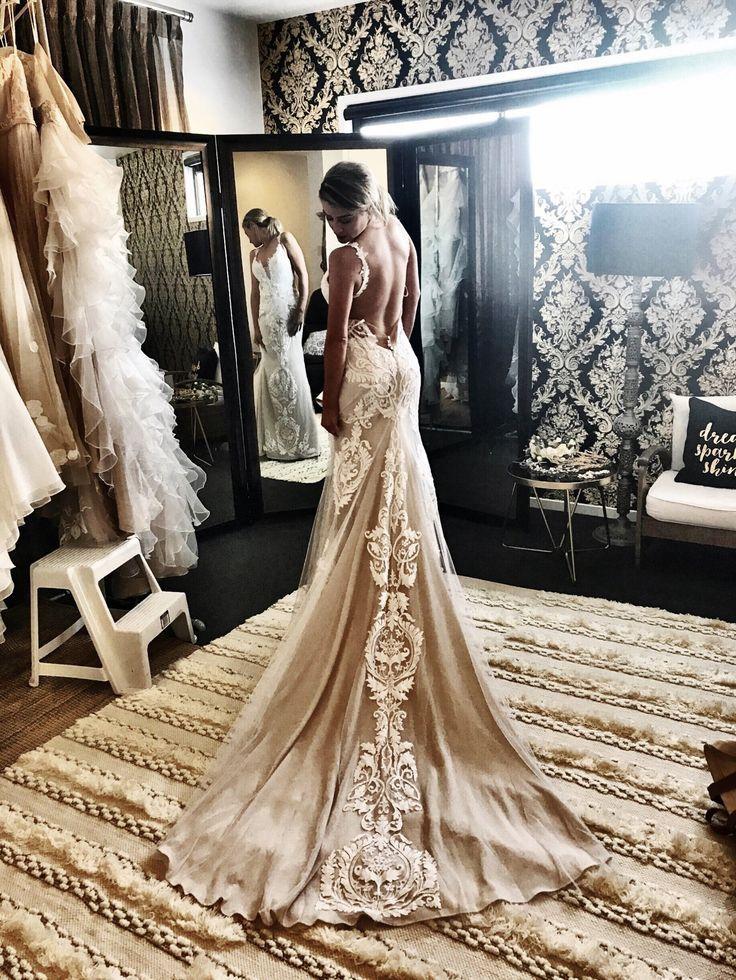 Mica | The GC Bridal Lounge #weddingdress #bohobride #couture #bohemian