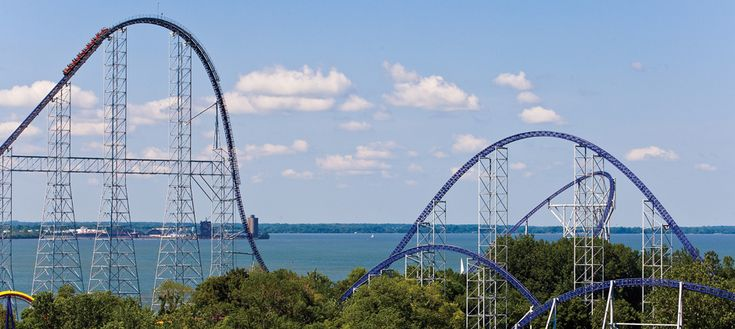 Cedar Point!!!:D i cannot go a summer without this place<3