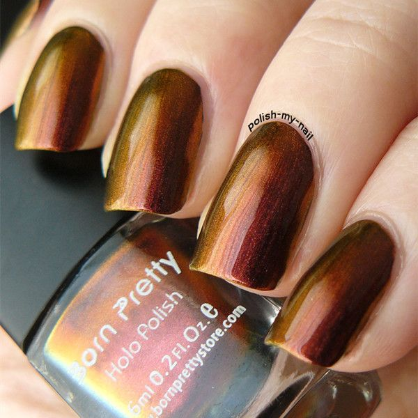 Золотые наклейки на ногти