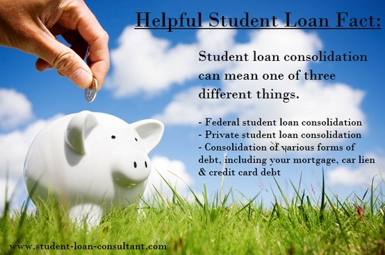 What is #studentloan #consolidation ? Tip from Jan Miller, #studentloanconsultant