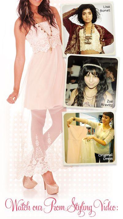 Trend Alert: Upcycled Prom Dresses 2013 | FashionClub.com