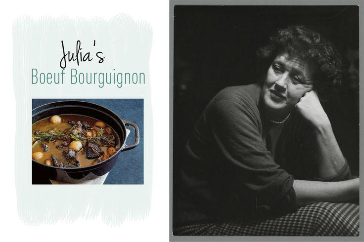 Wie boeuf bourguignon wil maken waarvan je van je stoel valt, volgt het recept van Julia Child, beroemd geworden met haar meesterwerk Mastering the art of French cooking. Een bewerkelijk recept, maar het resultaat is verbluffend. Julia: 'Zoals met de meeste beroemde gerechten het geval is, bestaan ook hiervan een groot aantal versies. Het is...