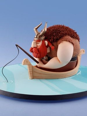 Sugarcraft > Masterclass in Modelling with Carlos Lischetti: The Viking – Squires Kitchen Cookery School