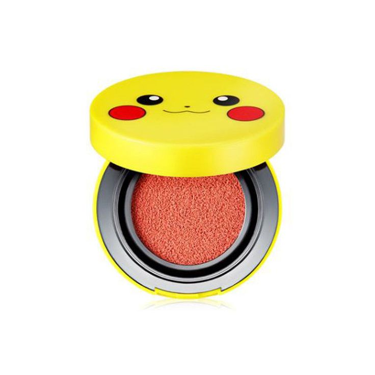 [Hot] Pokemon x Tonymoly Special Edition Pikachu Mini Cushion Blusher 9g #TONYMOLY