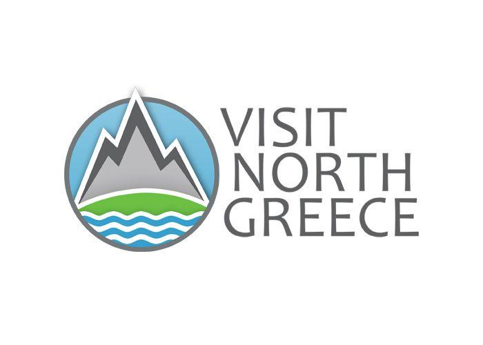 Allegria Web Agency in Greece | Κατασκευή Ιστοσελίδας. Our Favorite Logo Design for Visit North Greece, a nature travel agency.