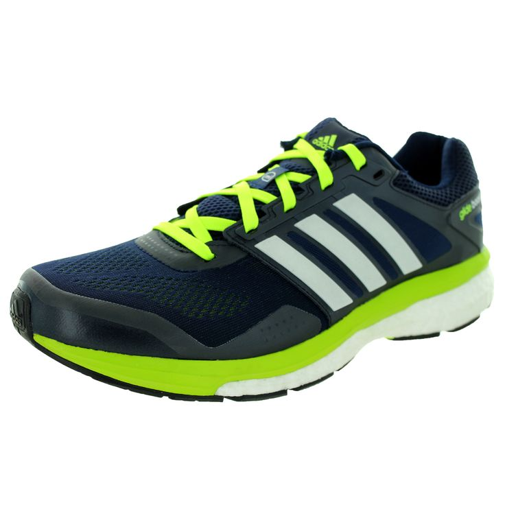 Adidas Men\u0027s Supeova Glide Boost 7 M Collegiate Navy Running Shoe