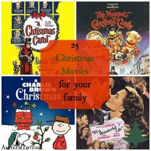25 Christmas Movies You wont want to Miss #Christmas #movies