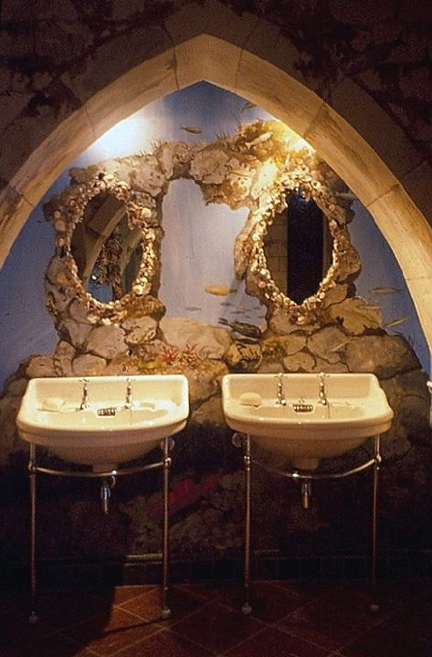 images about Bathroom Grotto on Pinterest Concrete