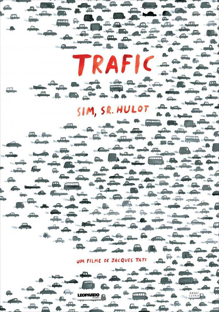 Jacques Tati has the best movie posters. @adriancurry explores the designs for his TRAFIC http://mubi.tv/1VW6k5U