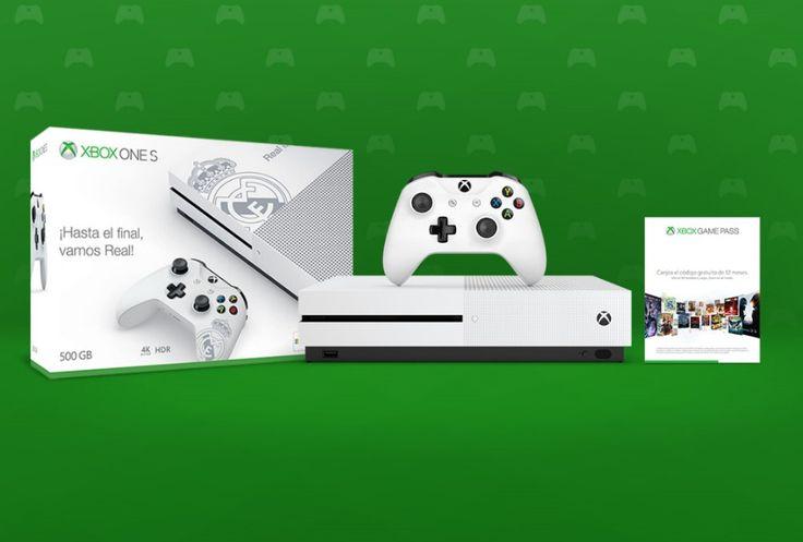 Esta nueva edición exclusiva de la Xbox One S es solo apta para fanáticos del Real Madrid. Este sueño blanco se ha hecho realidad gracias a la unión de Microsoft y el equipo de Zinedine Zidane. Como detalles observamos el logo del equipo tanto en la consola como el mando, ambos en color blanco r...