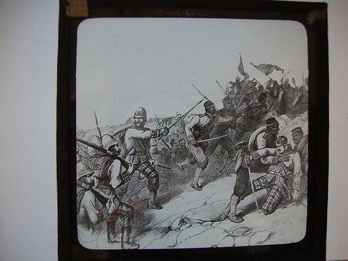 Boer War Battle Scene 1