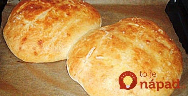 Taliansky rýchlo-kysnúci chlieb: Recept som si priniesla z dovolenky a je to najlepší domáci chlebík, aký poznám!