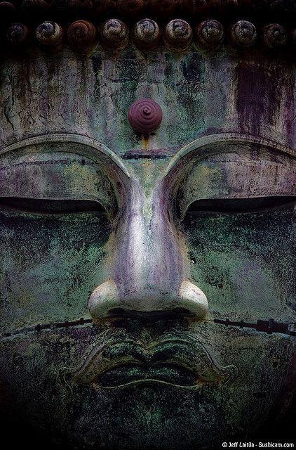 Great Buddha statue in Kamakura, Japan
