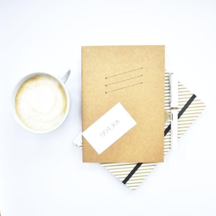 Piękne notesy od Magdaleny Tekieli / Beautiful notebooks from Magdalena Tekieli / photo credits: NOTEKA / notes / zeszyt