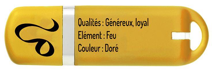 Clé USB 16 Go ASTRO Lion verso - KeyOuest http://www.keyouest-mobility.com/produits/cle-usb-16-gb-astro-lion-keyouest/