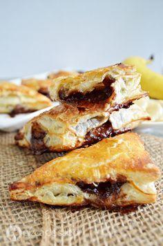 Empanadas de nutella y plátano www.pizcadesabor.com