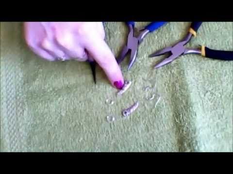 sieraden maken stap voor stap oorbellen (1)