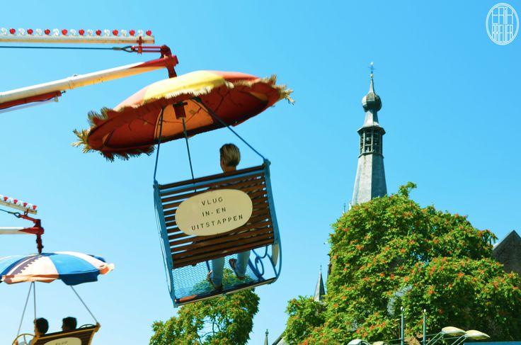 Floating under the umbrella - Tilburgse Kermis 2014