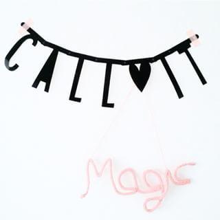 #Wordbanner #tip: Call it magic - Buy it at www.vanmariel.nl - € 11,95