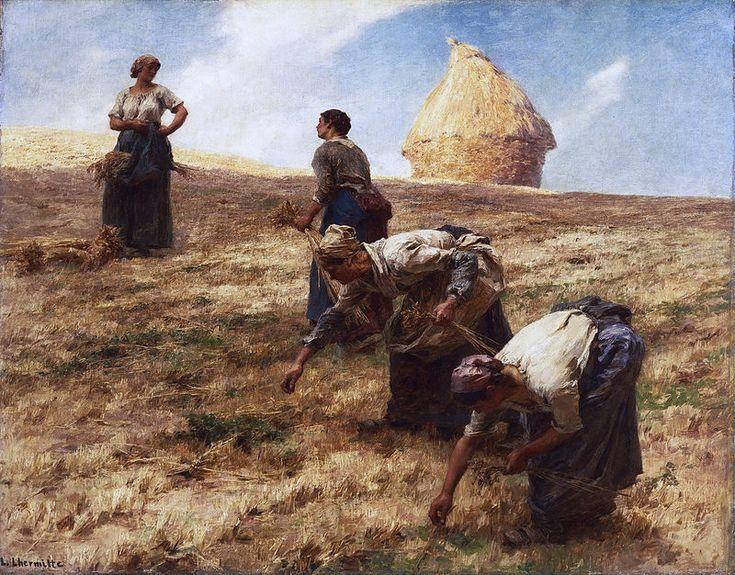 Léon Augustin Lhermitte - Les Glaneurs (1887)