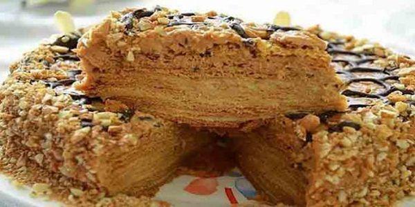 Медовик с заварным кремом ! Торт из моего детства! Записывайте рецепт!Медовик с заварным кремом нежный, пропитанный, большой
