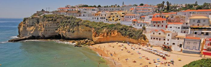 The Algarve in Portugal seems the perfect place to relax and forget the winter blues