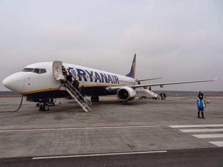 samolot Ryanair Warszawa Modlin Sztokholm Skavsta