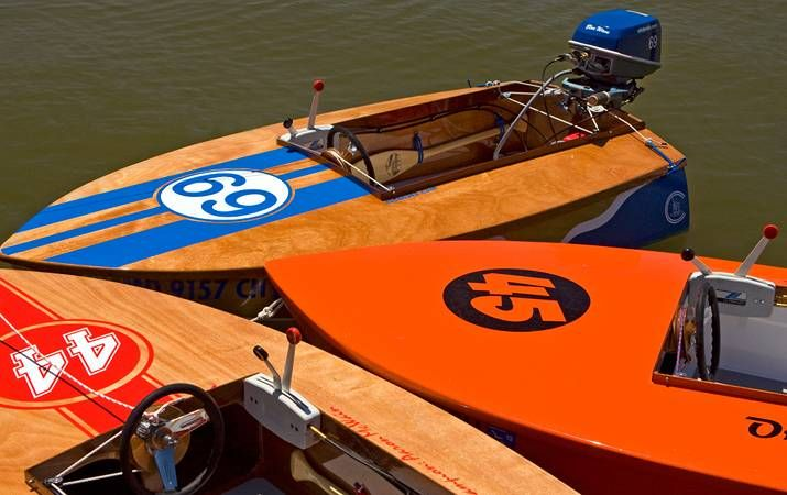 Cocktail Class Racer wooden outboard motor boat | Cocktail Class Race Boat | Pinterest | Boats ...