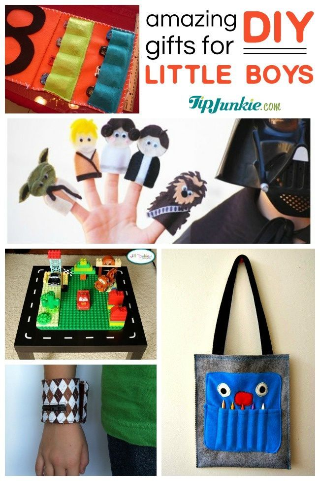 40 Awesome DIY Gifts for little boys!