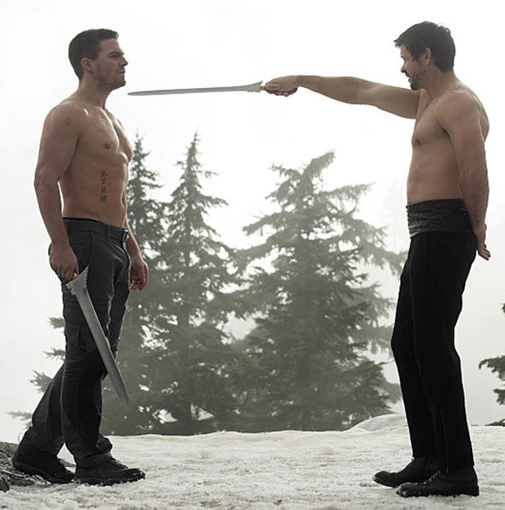 Arrow 3x09 The Climb - Oliver Queen vs Ra's al Ghul>>> such a good episode! i didn't think they'd do the Lazarus pit but I guess we'll see!