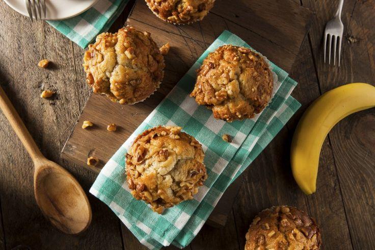 Muffinki bananowe Nigelli Lawson - zawsze wychodzą!