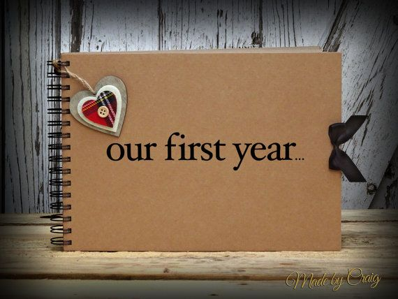 one year photo book ideas - 1000 ideas about Anniversary Scrapbook on Pinterest