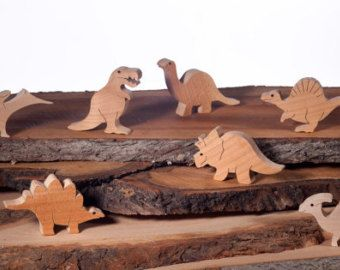 wooden DINOSAURS pack