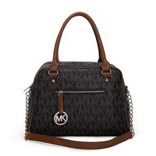 cheap Michael Kors Reese Signature Large Coffee Black Satchels sales  online, save up to 70% off hunting for limited offer, no duty and free  shipping.