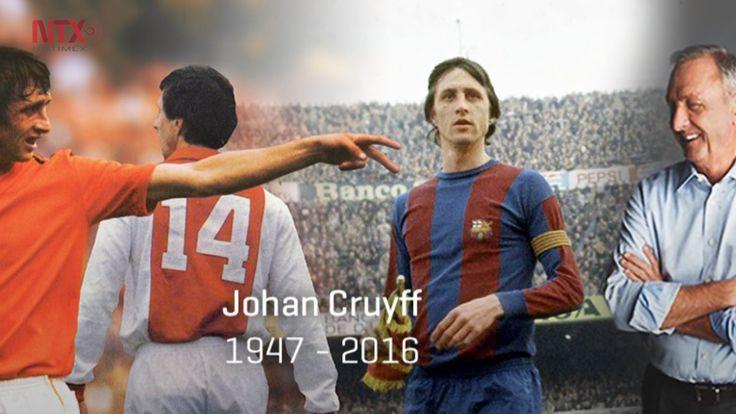 Muere en España ex futbolista holandés Johan Cruyff | Homenaje en el Camp Nou el 02.04.16, fecha del clásico.