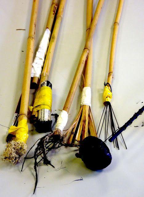 Pip Pittman: Handmade tools for mark making
