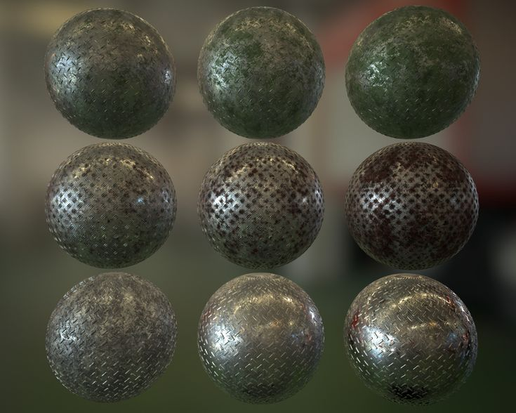 Procedural metal PBR Substance, Simon Tremblay Gauthier on ArtStation at https://www.artstation.com/artwork/5eb8w