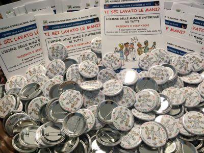 """Ospedale di Terni: campagna di sensibilizzazione per """"mani pulite"""""""