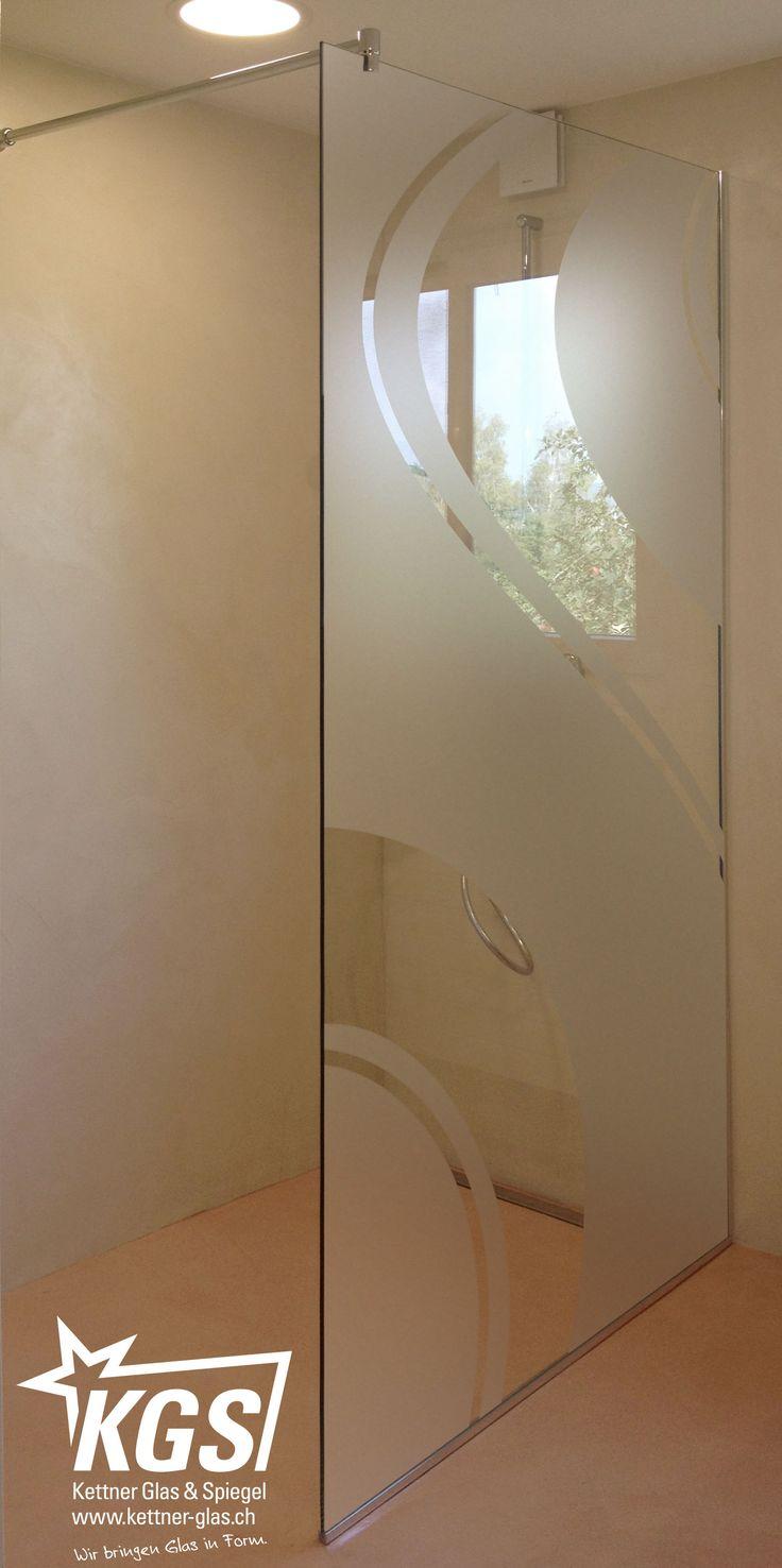 Shower drain furthermore stone look wall tile additionally modern -  Duschtrennwand Mit Motiv Sandstrahlung Von Ihrer Glaserei Das Anbringen Von Individuellen Mustern Auf Die Aussenseite Der Duschtrennwand Ist Eine