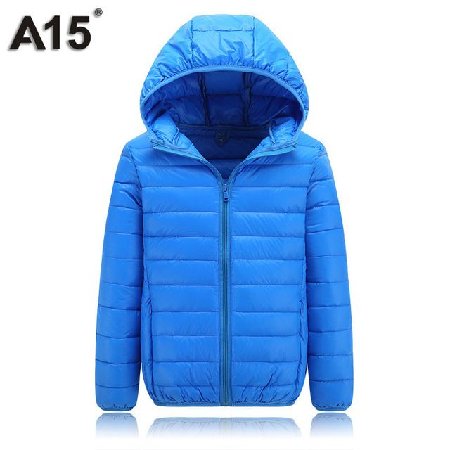 Special price A15 Children Spring Winter Jacket Girl Coat Teenage Jacket Toddler Boy Parka for Girl Autumn Hooded Down Jacket 10 12 14 16 Year just only $16.26 with free shipping worldwide  #boysclothing Plese click on picture to see our special price for you