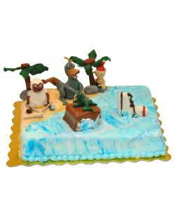 tort-cu-figurine-dinozaur